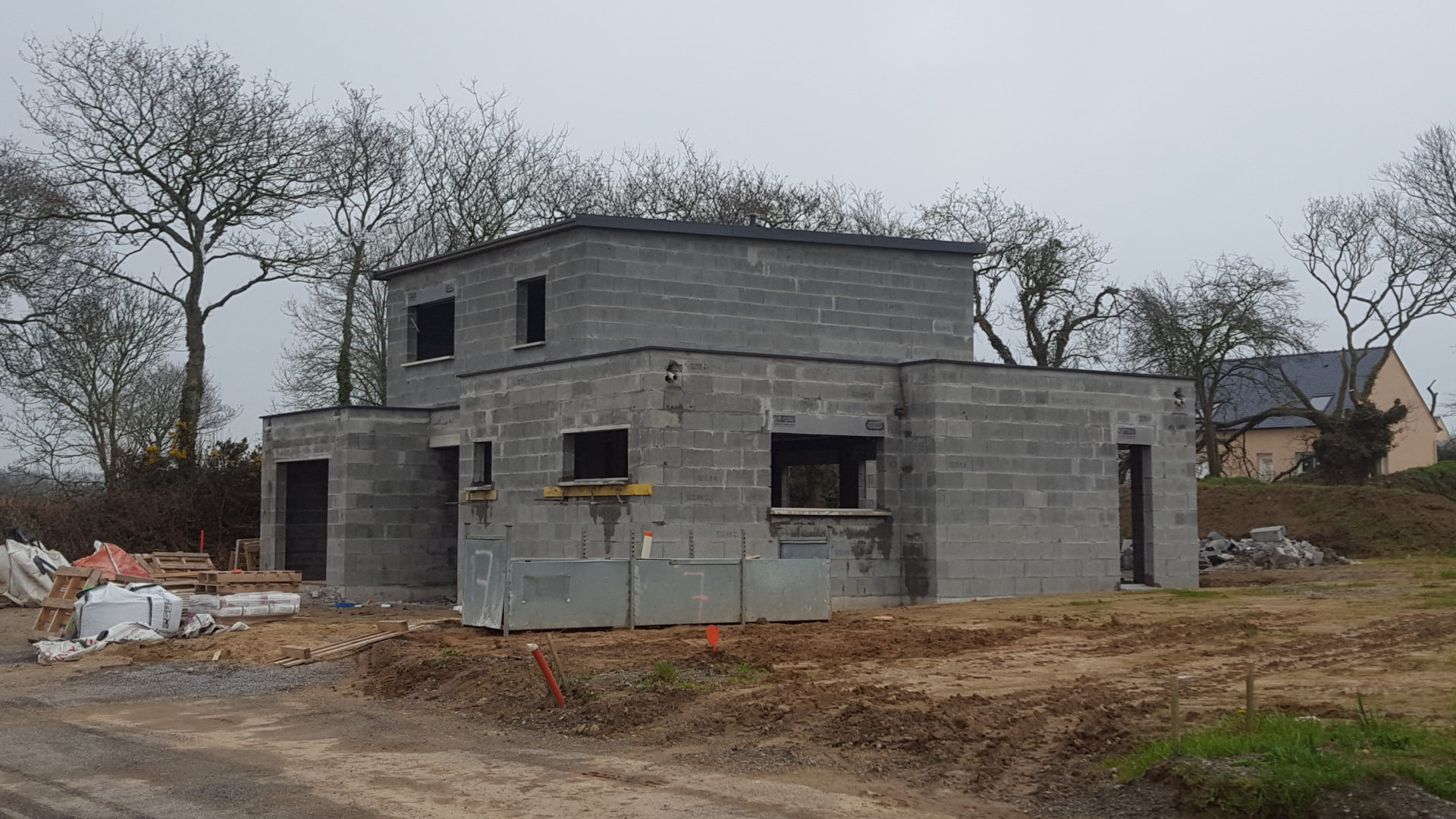 Construction-.Landéda