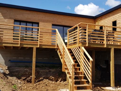 Dalle béton pour maison à ossature bois